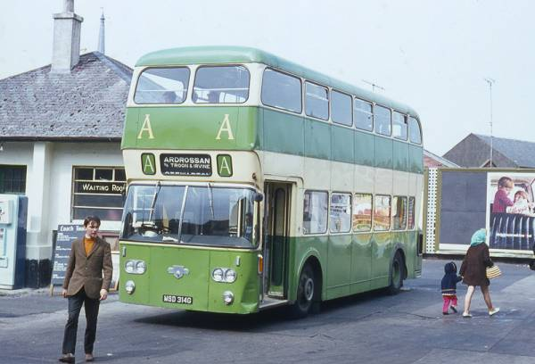 1969 Leyland Atlantean PDR1A-1 built in 1969 with Northern Counties H44-33F bodywork
