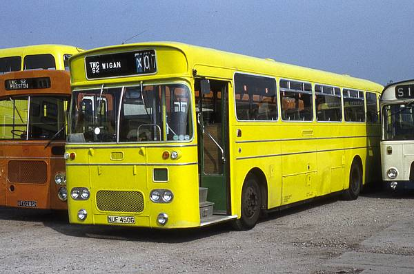 1969 Leyland Leopard PSU3-1R with Northern Counties DP49F bodywork