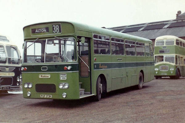 1969 Leyland Leopard PSU3-1RT with Northern Counties DP49F bodies