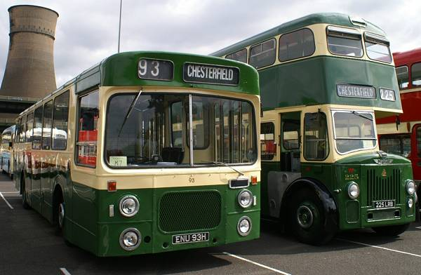 1969 Leyland Panther with Northern Counties bodywork