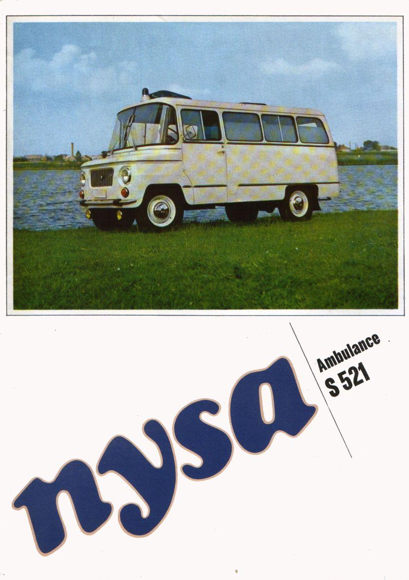 1969 Nysa S521 Ambulance 1
