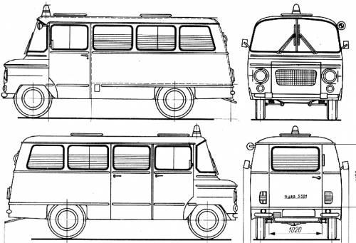 1969 Nysa S521 Ambulance a