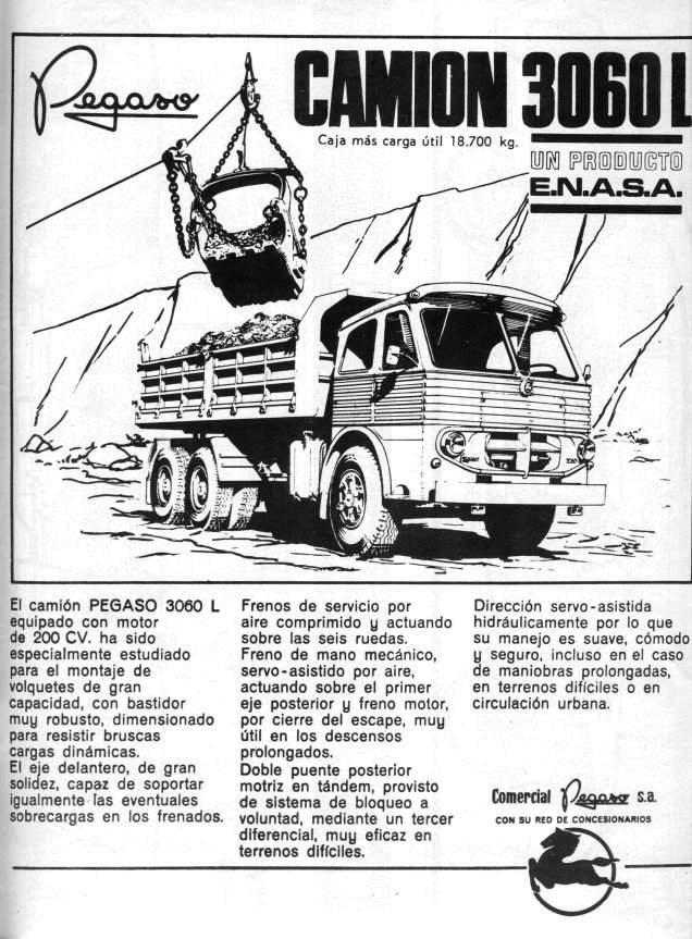 1969 Pegaso 3060 l