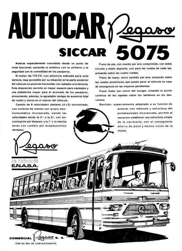 1969 pegaso 5075