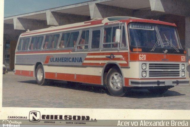 1970 620, carroceria Nielson Diplomata, chassi Scania B76