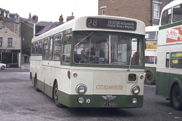 1970 AEC Swift 2MP2R with Northern Counties B50D bodywork.