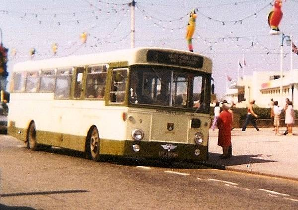 1970 AEC Swifts had Northern Counties body