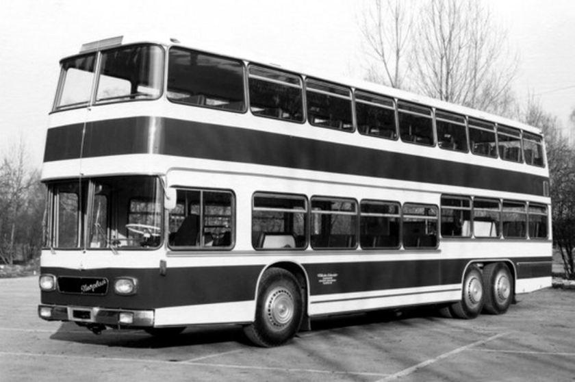 1970 Auwärter Neoplan NB 26-3 Liniendoppeldecker SCHNEIDER