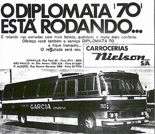 1970 Carrocerias Nielson SA