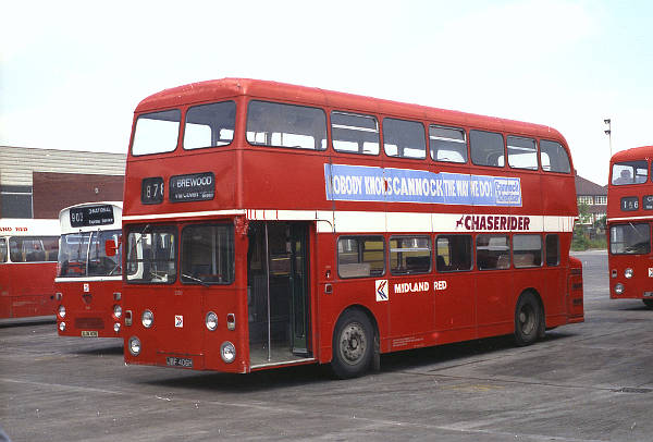 1970 Daimler Fleetline CRG6LX with Northern Counties H44-33F bodywork