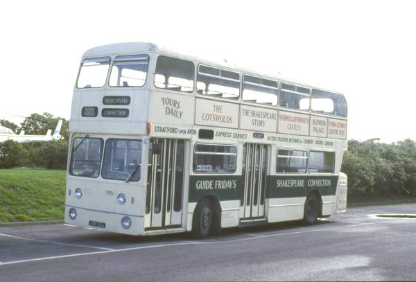 1970 Daimler Fleetline CRG6LX with Northern Counties H45-27D bodywork