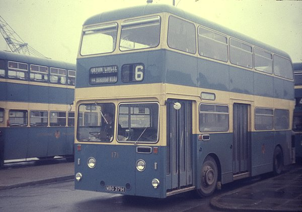1970 Leyland Atlantean PDR1A-1 with Northern Counties H44-27D bodywork