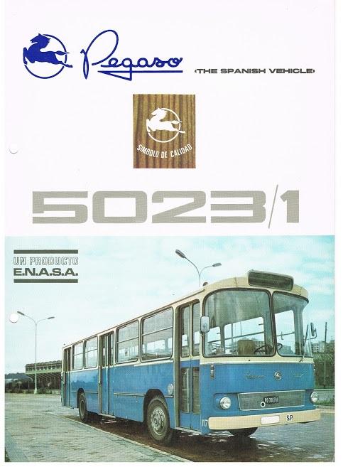 1970 PEGASO 5023-1