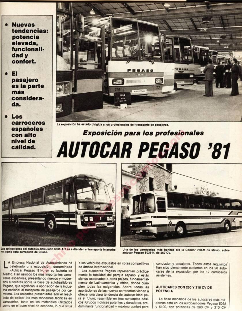 1970 Pegaso 6031-A-2 + 5035-N Condor780M