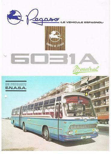 1970 PEGASO 6031A 5031 ENASA