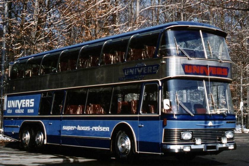 1971 Auwärter Neoplan Busse aus Stuttgart SKYLINER NH 22 Univers