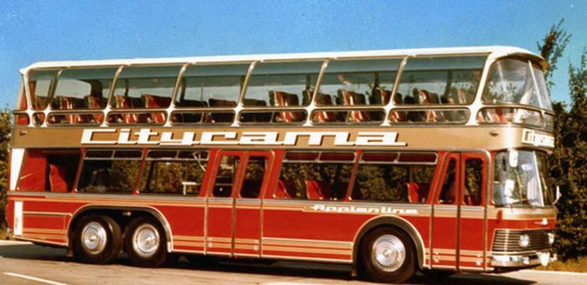 1971 Auwärter Neoplan ND 22-3 Skyliner Stadtrundfahrten APPIAN LINE Rome