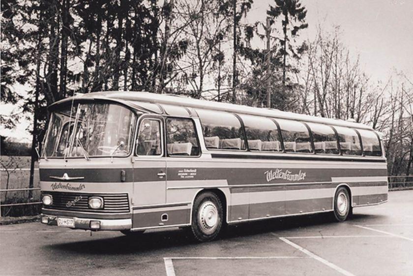 1971 Auwärter Neoplan NH 16 Typ Hamburg Schuchard - WELTENBUMMLER