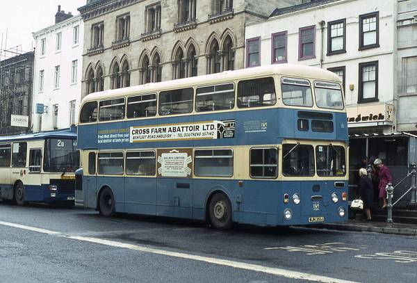 1971 Daimler Fleetline CRL6 with Northern Counties H49-31D bodywork