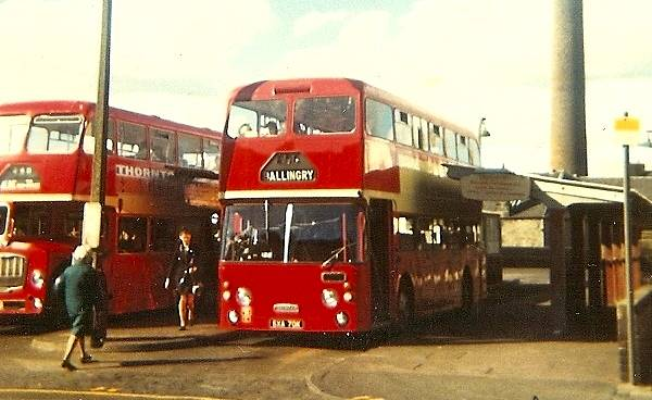 1971 Daimler Fleetline with Northern Counties bodywork FRF70