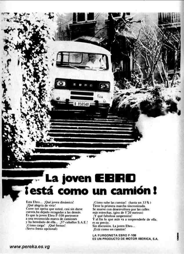 1971 Ebro F-108