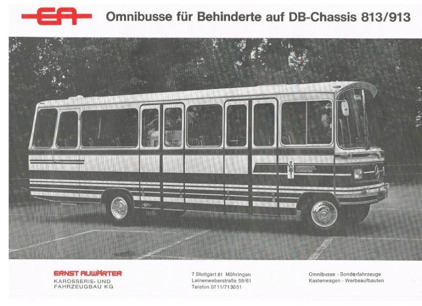 1972 AUWÄRTER MB 813-913
