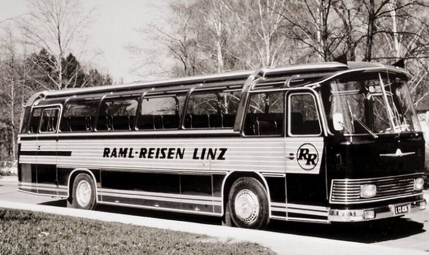 1972 Auwärter Neoplan NH 12 Typ Hamburg RAML Reisen