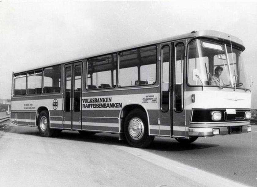 1972 Auwärter Neoplan Typ Hamburg ND 12 K Linienbus BURKERT, Gerabronn