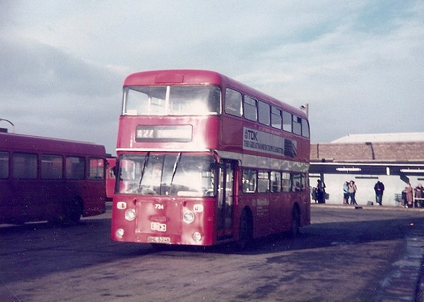 1972 Daimler Fleetlines were a batch of Northern Counties body