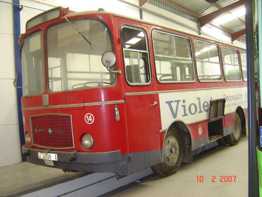 1972 Pegaso 5080 (Burillo) Spanje