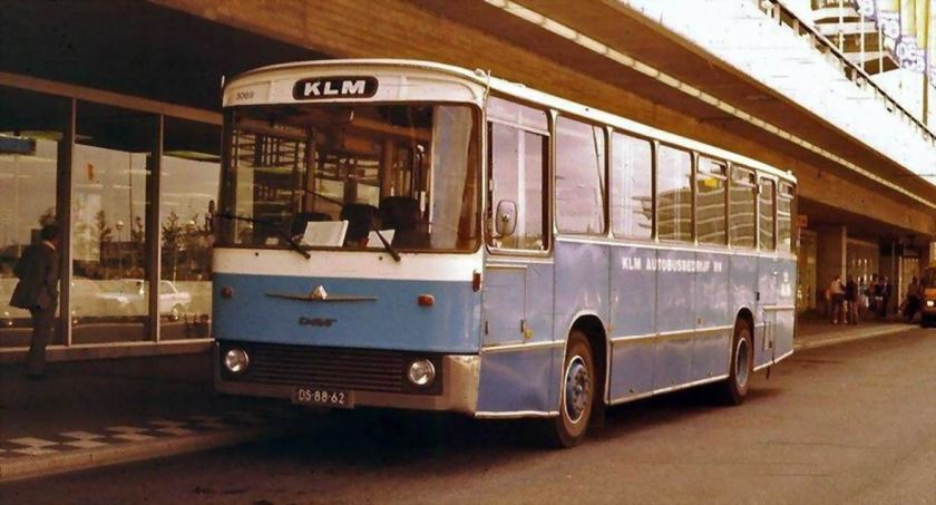 1973 DAF met Auwärter body