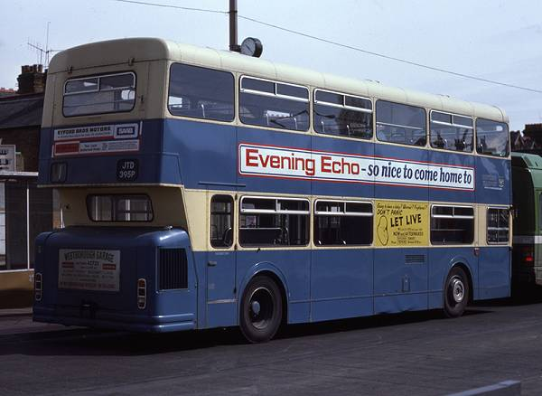 1973 Daimler Fleetline CRL6-33 JTD395P with Northern Counties H49-31D body