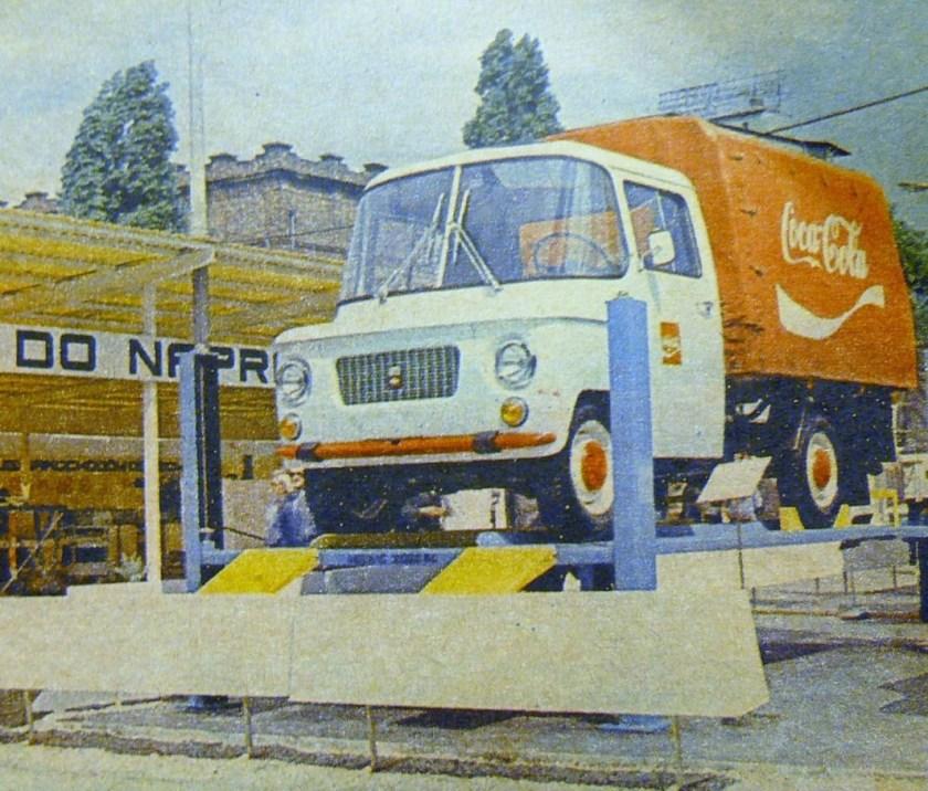 1973, MTP Poznan, Nysa, Coca Cola