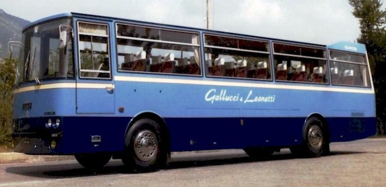 1976 Autobus Fiat 343  L Carrozzato ORLANDI modello SAROS