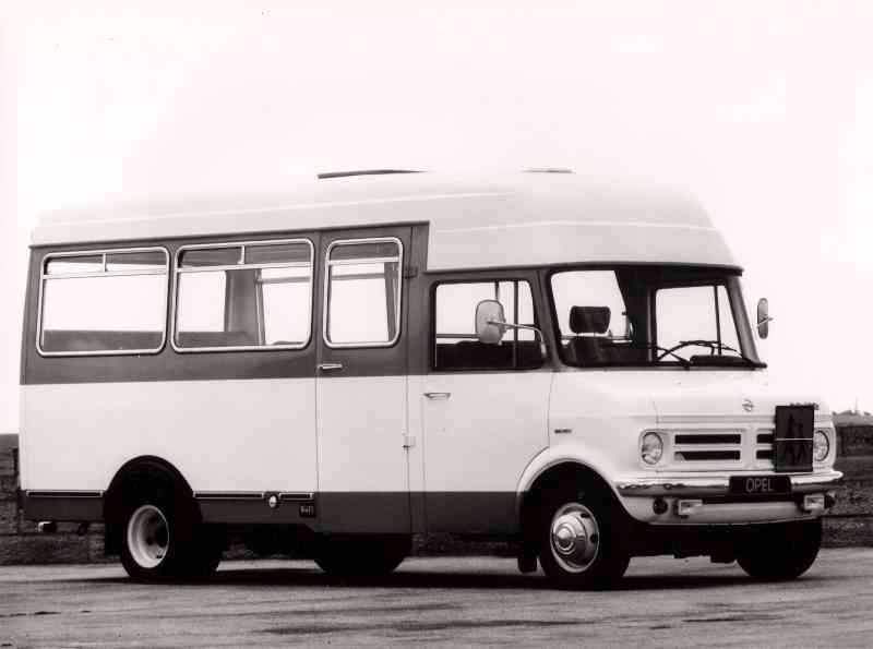 1977 Opel Bedford Blitz CF 250