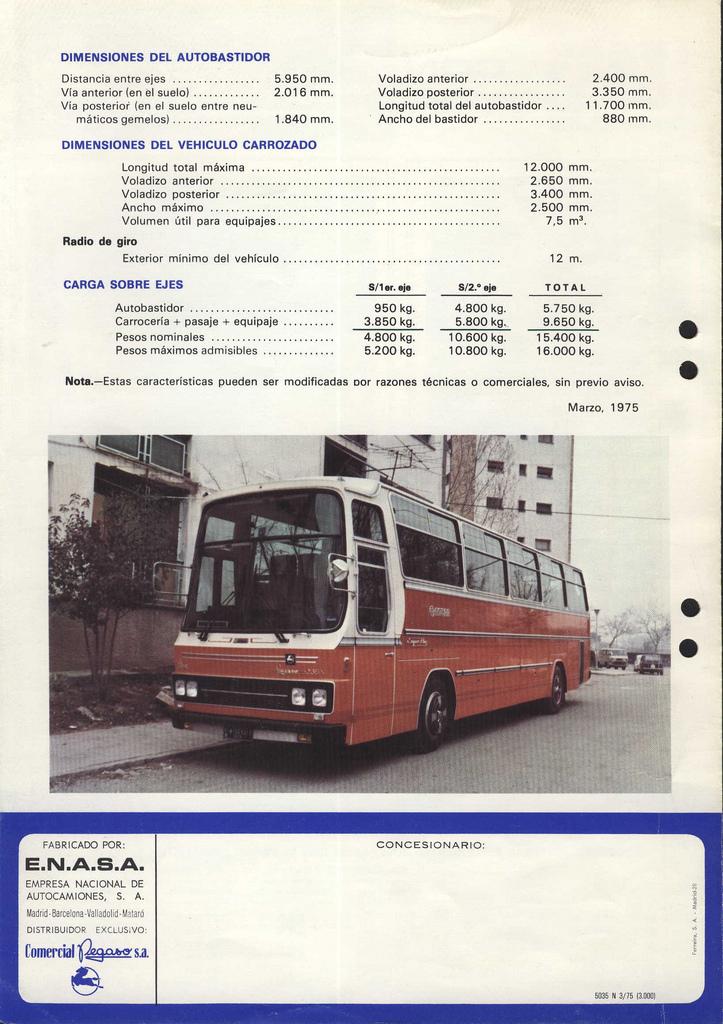 1978 Pegaso 5035 N IV
