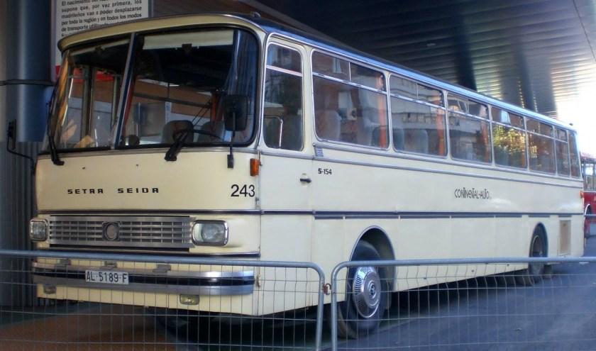 1978 Pegaso Setra Seida. 11945 cc, 225 horsepower