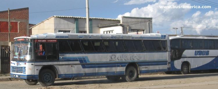 1978 Scania - Nielson Diplomata (en Bolivia) - Dalece
