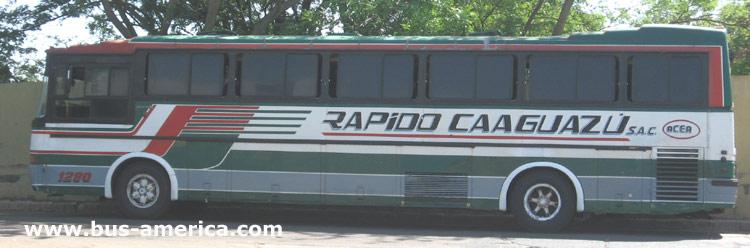 1979 Scania BR 115 - Nielson Diplomata 260 (en Paraguay) - Rapido Caaguaz