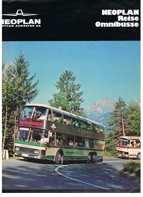 1980 NEOPLAN Reisebusse