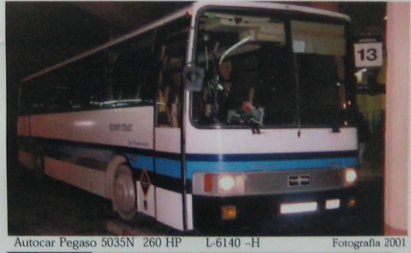 1980 Pegaso 5035N (Van-Hool)