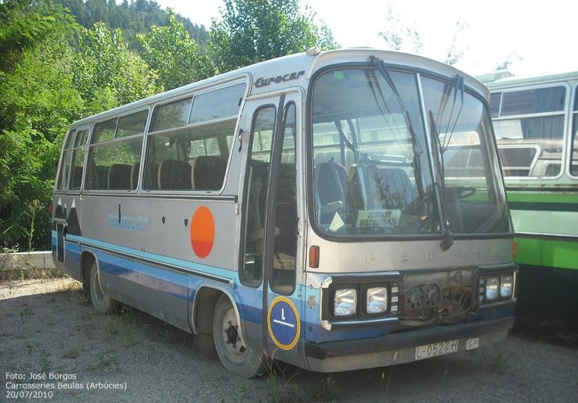 1980 Pegaso-Sava 5720 (Beulas Eurocar)