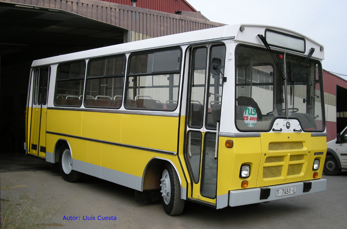 1982 PEGASO UNICAR U75 model 5081