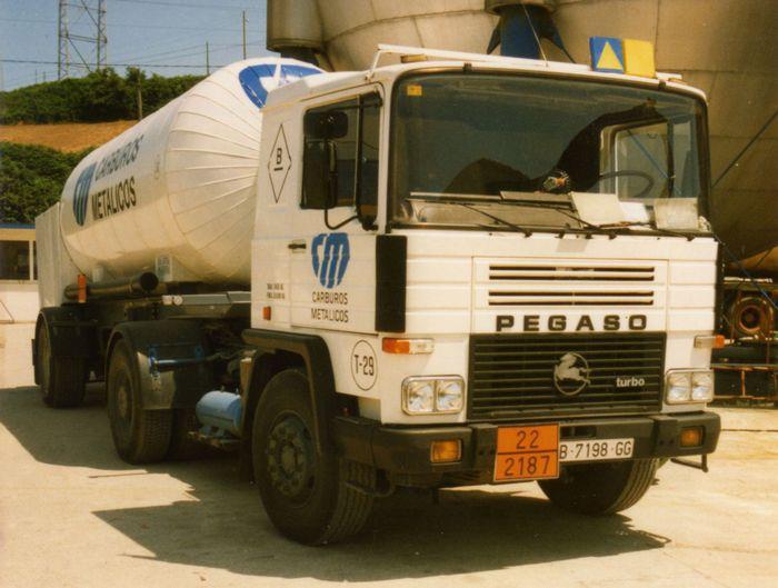 1984 Pegaso 1231-T del 2