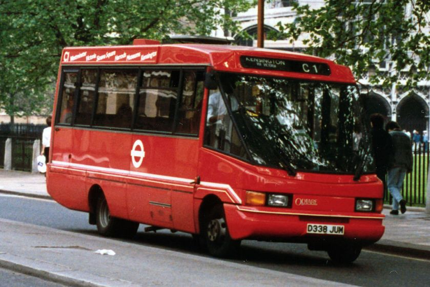 1986 Optare City Pacer