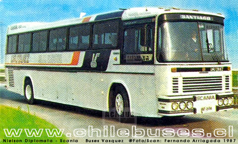 1987 NielsonDiplomataScaniaBusesVasquez1987
