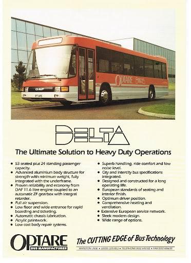 1988 OPTARE Delta