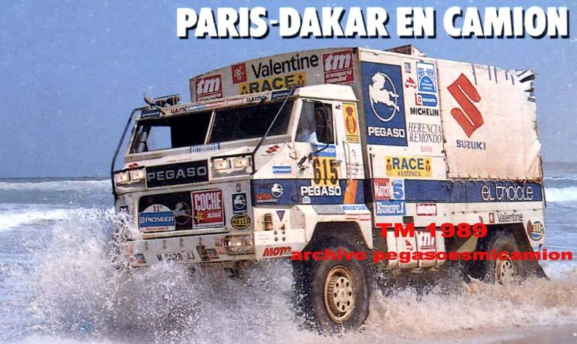 1989 Pegaso Dakar