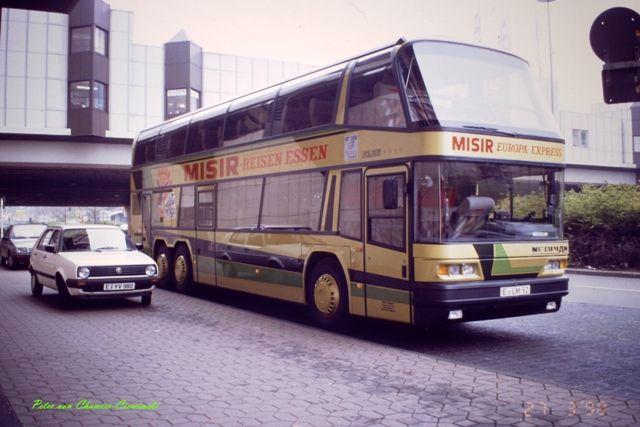 1990 Misir-Reisen Essen Neoplan Skyliner E-LM 52  Porscheplatz