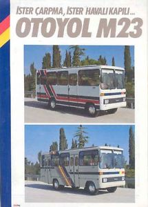 1990-Otoyol-M23-Midi-Tour-Bus-Brochure-Turkey